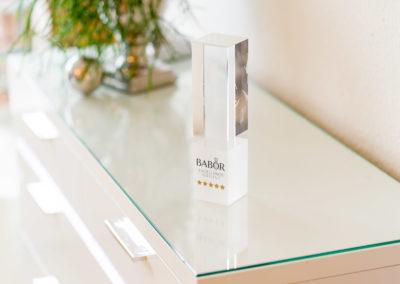 """Preis für die Auszeichnung als """"Babor Excellence Insitut"""" - 2"""